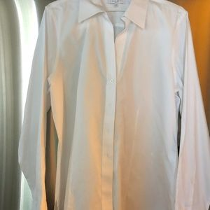 Foxcroft White Button-down